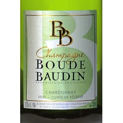 CHAMPAGNE CHARDONNAY RESERVE BOUDE BAUDIN