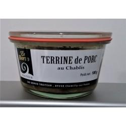 TERRINE DE PORC AU CHABLIS 180GR