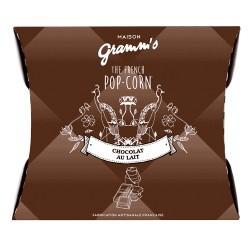 POP CORN GRAMM'S CARAMEL BEURRE SALE CHOCOLAT NOIR 30GR