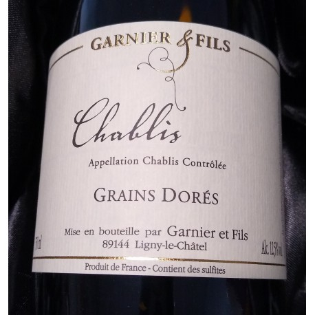 CHABLIS GRAINS DORES