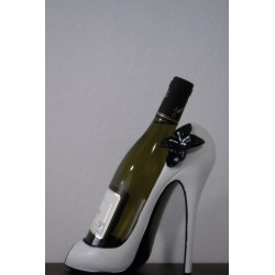 PORTE BOUTEILLE CHAUSSURE CHIC BLANCHE